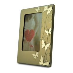 Rama decorativa Smart Butterfly din metal, Format 10x15