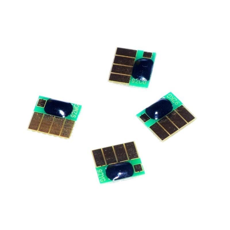 Set 4 Chip-uri Compatibile LC223 B/C/Y/M