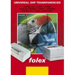 Folie transparenta printabila dual side inkjet si laserjet, format A4