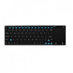 Tastatura Smart TV multimedia wireless cu touchpad 7 inch