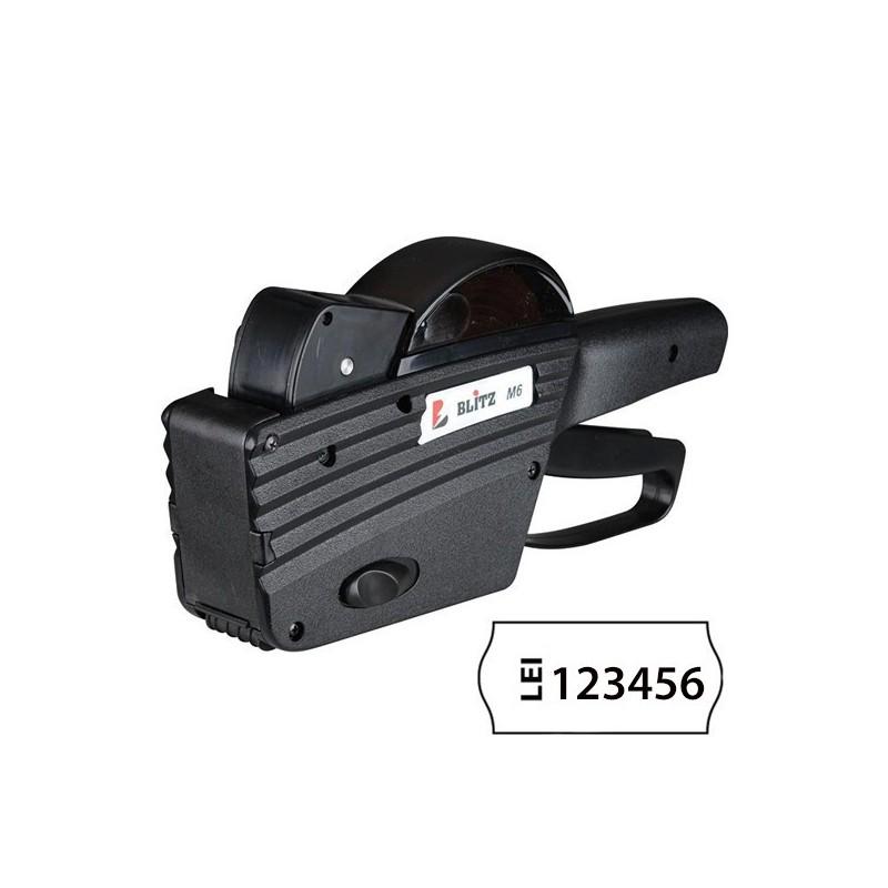 Marcator etichete 1 linie 6 caractere Blitz M6
