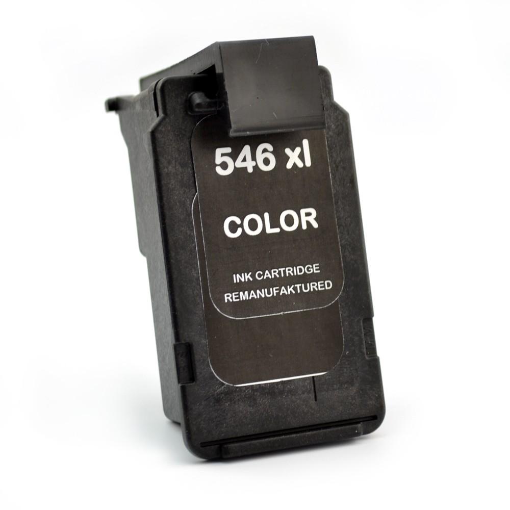 Cartus Compatibil Cl 546 Xl Color Pentru Canon  De Capacitate Mare