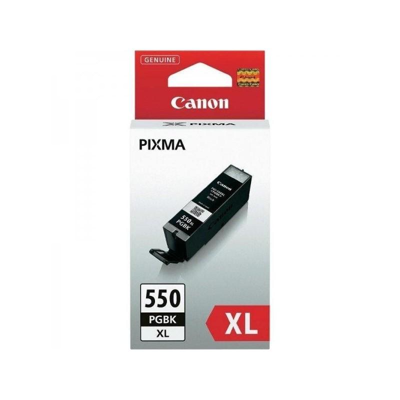 Cartus original Canon PGI 550 Pigment Black de capacitate mare