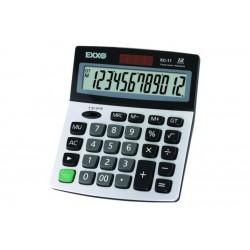 Calculator solar Exxo, 12 caractere, alimentare baterie
