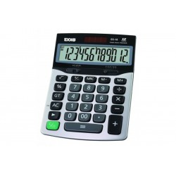 Calculator office EXXO 12 digit, baterie si solar
