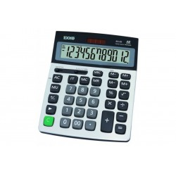 Calculator mare Exxo 12 digit, alimentare duala