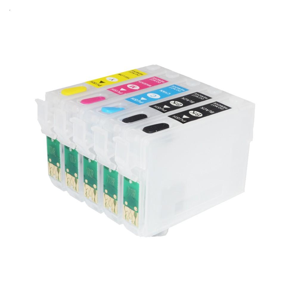 Cartuse Reincarcabile Pentru Epson B1100 B1110 Cerneala: Cu Cerneala Pigment