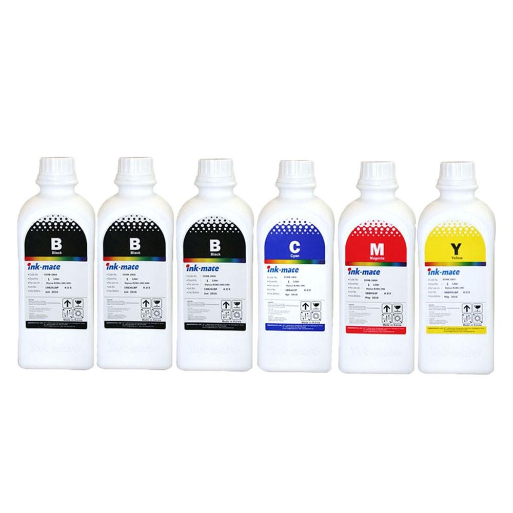 Cerneala Pentru Cartuse Reincarcabile Canon In 6 Culori Cantitate: 1000 Ml/culoare