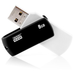 USB Flashdrive 8GB 2.0 BLACK & WHITE