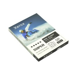 Hartie foto Xerox 13x18 215 gr High Glossy, 50 coli