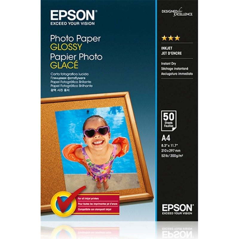 Hartie foto Epson Glossy A4 200g/mp
