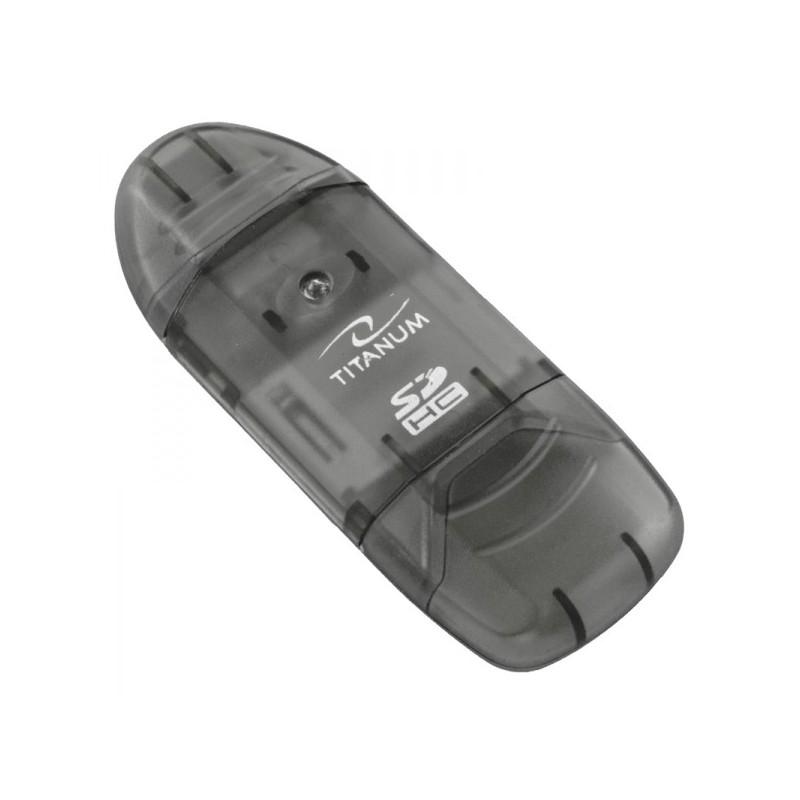 Cititor de carduri SDHC si MMC universal, Titanum