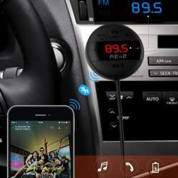 Modulator FM Car Kit cu bluetooth, Rii