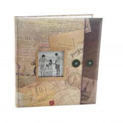 Album foto Holiday personalizabil, tip memo cu 60 de pagini,  pentru foto autoadezive