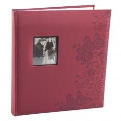 Album foto Secrets ornamente florale vinil cu 60 de pagini 29x32