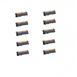 Set 10 tonere compatibile vrac TN2330 pentru Brother
