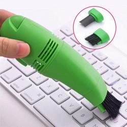 Mini Aspirator USB pentru tastatura, Verde