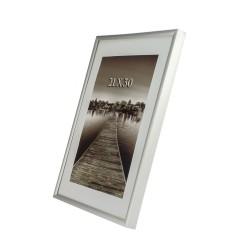 Rama foto ADA, aluminiu,  21x30, argintie