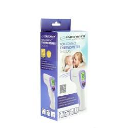 Termometru digital non contact, infrarosu, pentru corp si suprafete, ecran LCD, Esperanza