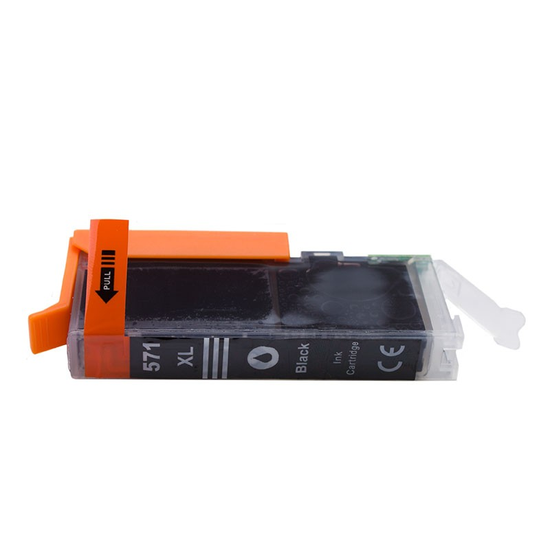 Cartus Compatibil Pentru Canon Cli-571xl Black 11 Ml  Procart  Capacitate Mare