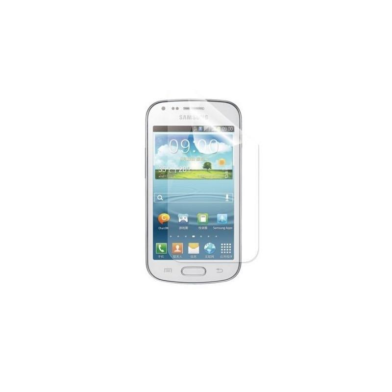 Folie sticla securizata, protectie, Samsung Galaxy Trend S7560, anti-amprenta digitala 9H