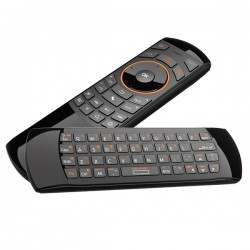 telecomanda universala smart tv cu tastatura qwerty si air mouse