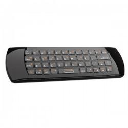 telecomanda universala smart tv cu tastatura qwerty si air mouse