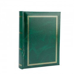 Album foto Clasic, 13x18, 100 fotografii, slip-in, resigilat, verde