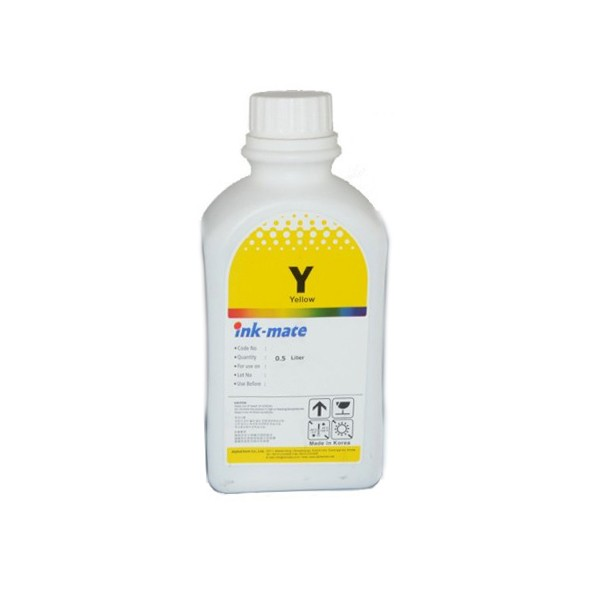 Cerneala Refil Yellow (galben) Pentru Imprimante Lexmark Cantitate: 500 Ml