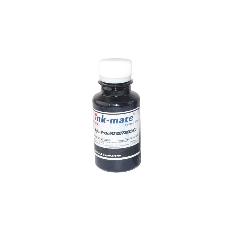 Cerneala SuperChrome Light Light Black pigment pentru Epson R2100 R2200 R2400