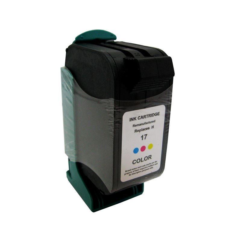 Cartus C6625AE color compatibil HP 17 remanufacturat