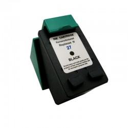 Cartus C8727AE negru compatibil HP 27 remanufacturat
