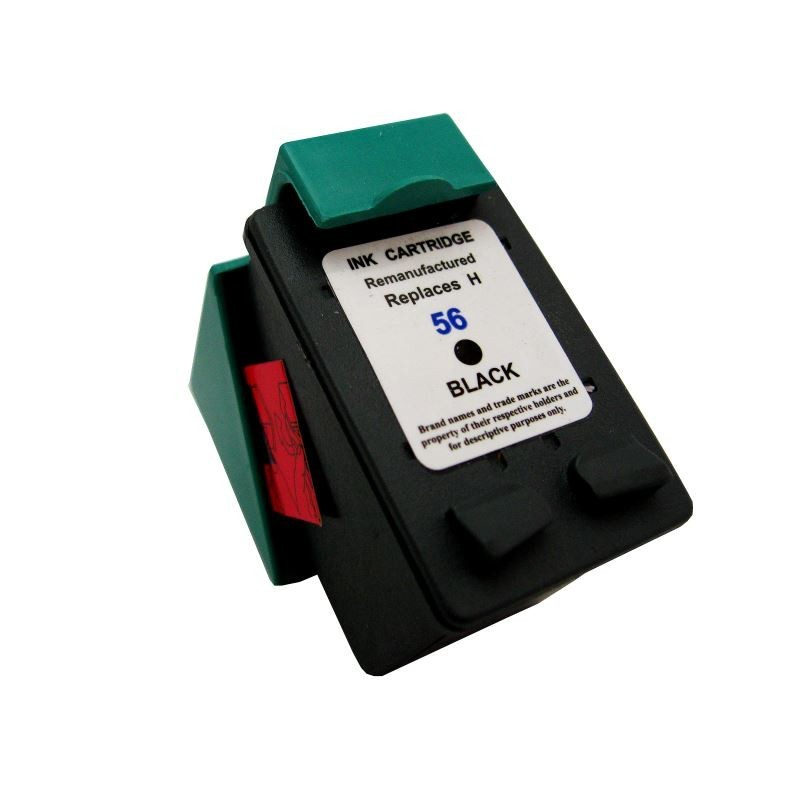 Cartus compatibil Black (negru) pentru HP-56 C6656AE