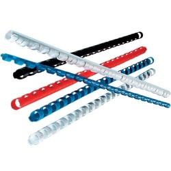 Inelele din plastic pentru indosariere diametru 10 mm