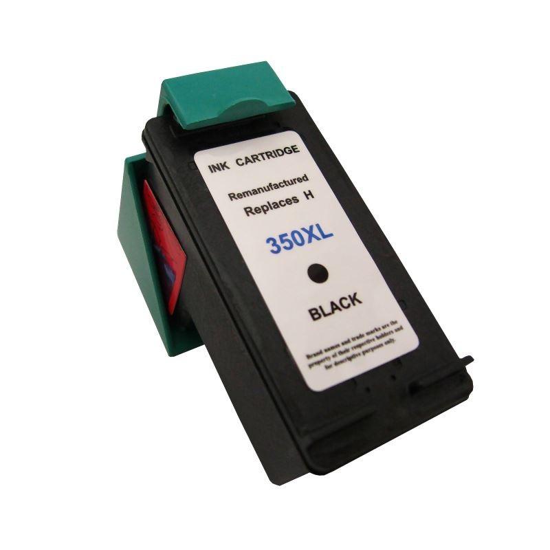 Cartus compatibil remanufacturat pentru HP350XL, de mare capacitate