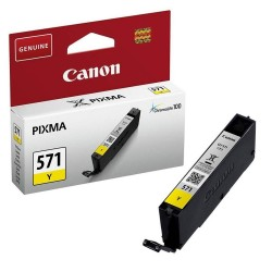 Cartus cerneala original Canon CLI-571Y, 7ml, Yellow