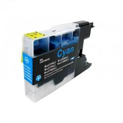 Cartus compatibil LC1220-XLC LC1240-XLC LC1280-XLC XL Cyan pentru Brother