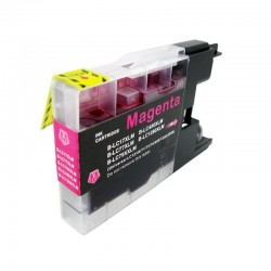 Cartus compatibil LC1220-XLM LC1240-XLM LC1280-XLM XL Magenta pentru Brother