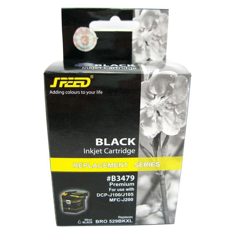 Cartus Compatibil Lc529xlbk Lc525xlc Lc525xlm Lc525xly Xl Pentru Imprimante Brother Culoare: Black