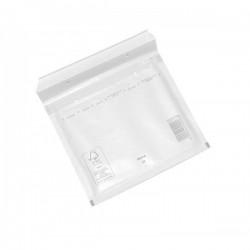 Plic cu bule antisoc pentru CD DVD 200x175 mm alb