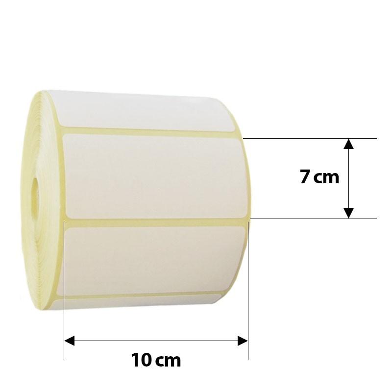 Etichete pentru cantare electronice, autoadezive direct termice, 10x7 cm