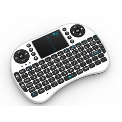 Mini tastatura wireless sau bluetooth cu touchpad compatibila Smart TV