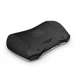 Mini tastatura Rii i28C, wireless, iluminata, touchpad, pentru Computer, Smart TV