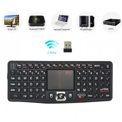 MINI TASTATURA WIRELESS N7 CU MOUSE PAD SI TELECOMANDA MULTIMEDIA