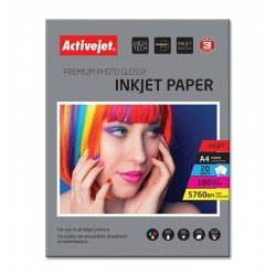 Hartie FOTO A4 Premium, Activejet Glossy 180g