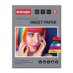 Hartie FOTO A4 Premium, Activejet Glossy 200g