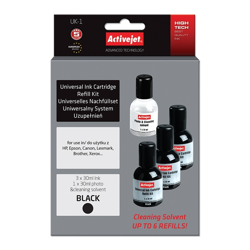 Kit universal de refill Black