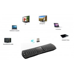 tastatura mini wireless cu touchpad compatibila playstation 3
