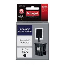 Sistem Kit automat de refill black pentru HP 21 HP 27 HP 56 ActiveJet