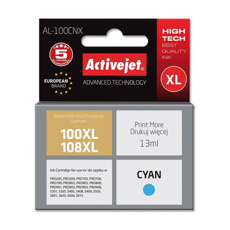 Cartus compatibil AC-100XL AC-108XL pentru 14N1069E Cyan